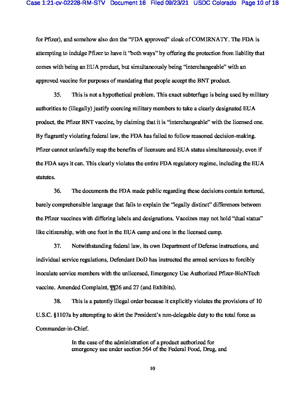 Colorado Lawsuit 10