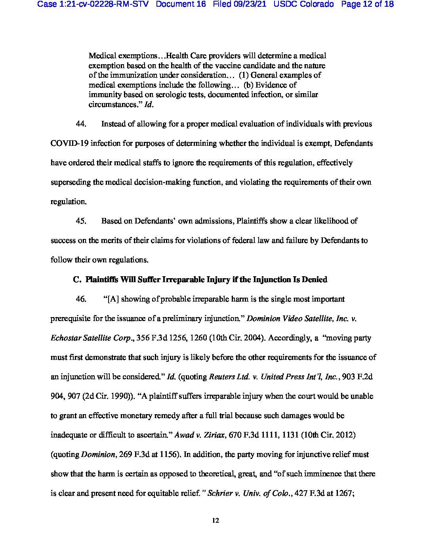 Colorado Lawsuit 12