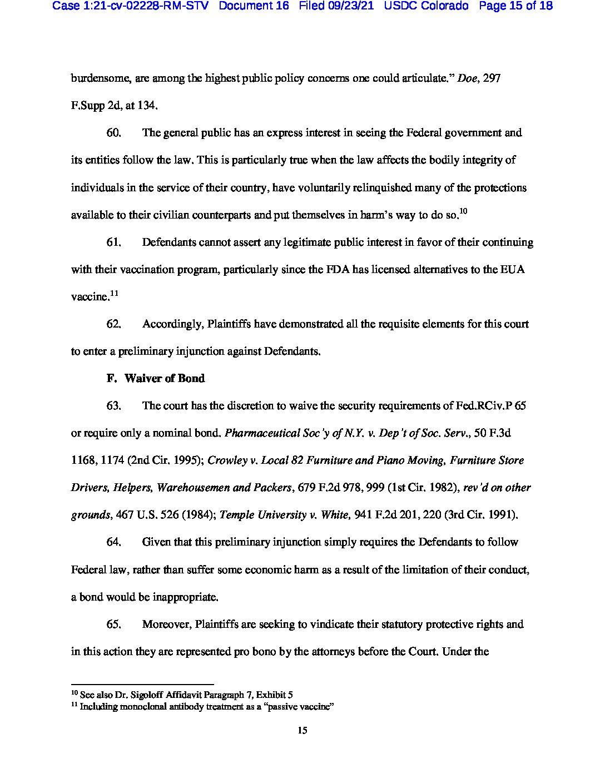 Colorado Lawsuit 15
