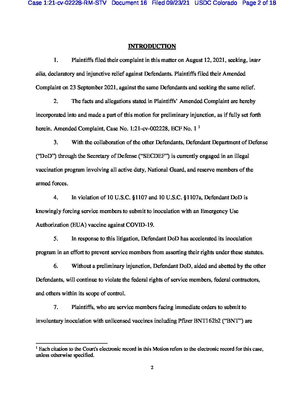 Colorado Lawsuit 2