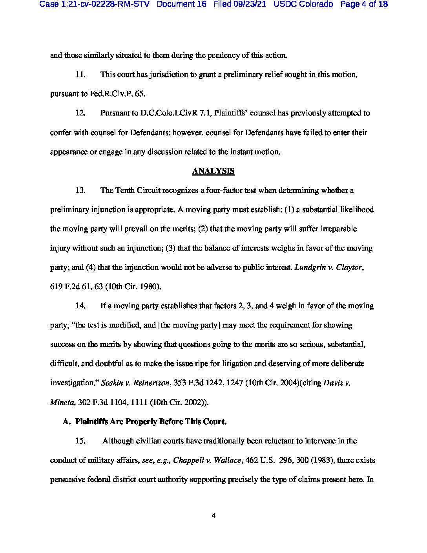 Colorado Lawsuit 4